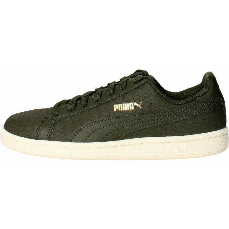 Mens Puma Smash Woven Trainers - Grün