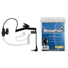 MaximalPower RHF 617-1n 3.5mm Receiver/listen Only Surveillance Headset Earpiece