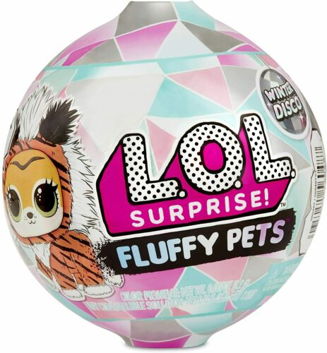 LOL Surprise Winter Disco Series FLUFFY PETS Sealed Unopened Ball BRAND NEW