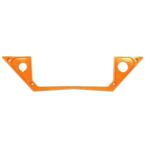 Orange 2017 Bottom Custom Polaris Ride Command Edition XP1000 1 Pc Dash Panel