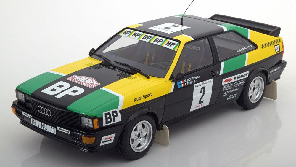 Minichamps  Audi Quattro Rally des 1000 Pistes 1981 Mouton Pons  2 1 18 LE of 350  mieux acheter