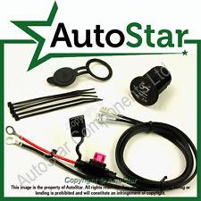 USB Kit, Mount 'A' Cable size: 1.5m 12v Motorbike Double Power Port Socket (GPS)