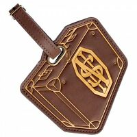Fantastic Beasts: Suitcase Pu Travel Luggage Bag Tag By Bioworld