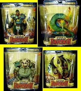Legends-of-The-Bladehunters-4-Figure-Set-New-Basilisk-Dragon-McFarlane-Toys-039-09