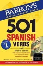 501 Spanish Verbs with CD-ROM and Audio CD (501 Verb Series), Theodore Kendris,