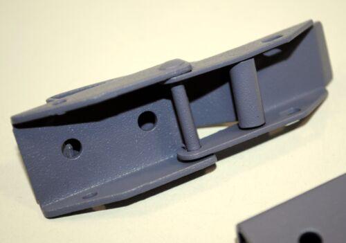 Kistenverschluss Kappenschloss 70 x 23 x 12mm oh.Gegenstück Spannverschluss