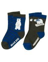 Gymboree Snowboard Legend Bear 2pr Of Boys Socks 6 12 24 2t 3t 4t 5t