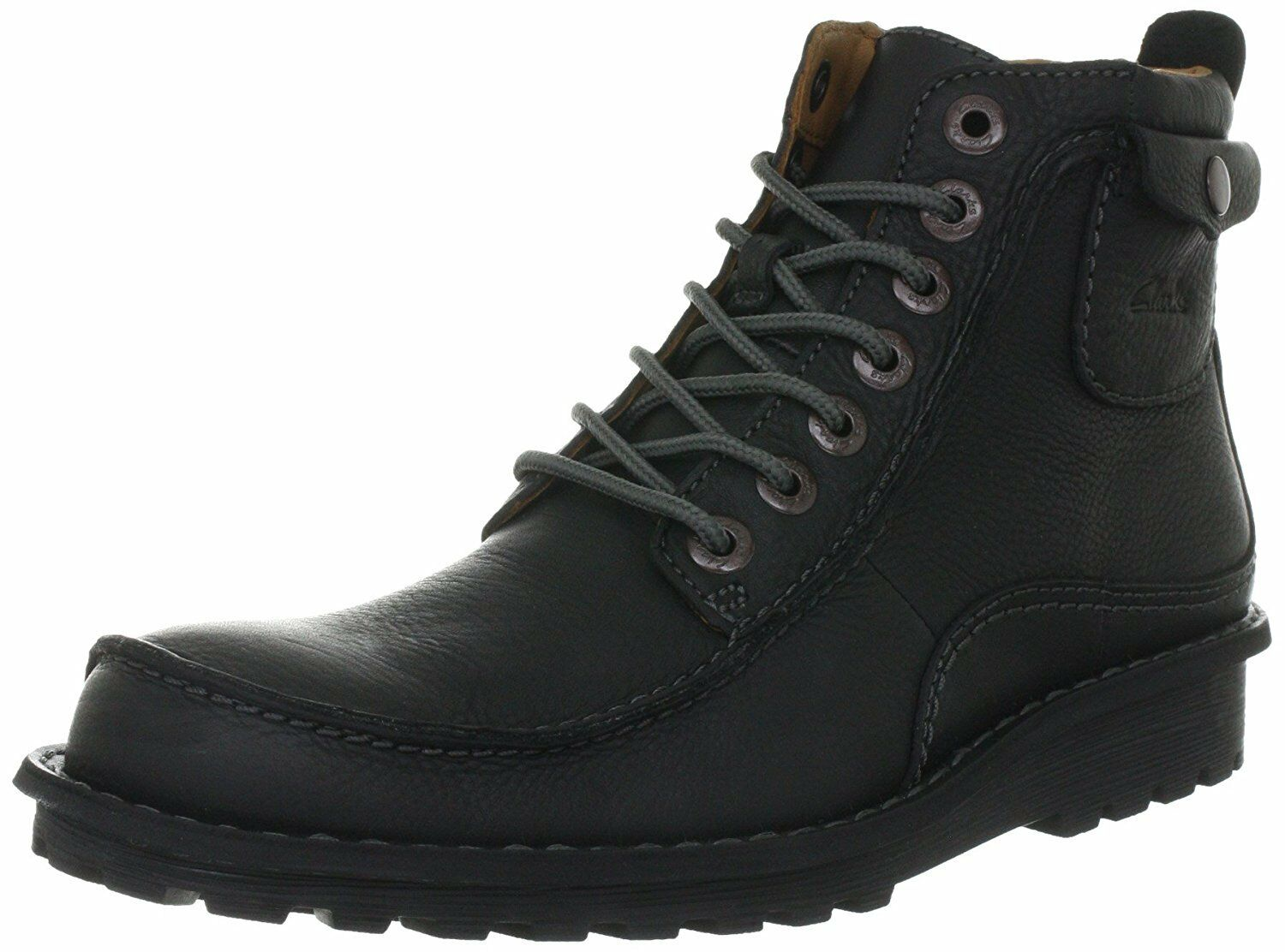 Clarks Manly Camaro Men's Boots Size UK7 (EU 41   US8M) in Black Leather