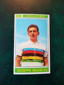 RARE Panini Campioni Dello Sport 1967-68 No 243 Giuseppe Beghetto - Cycling