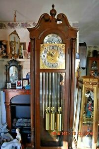 Herschede Haverford 294 Grandfather Clock Working Ebay