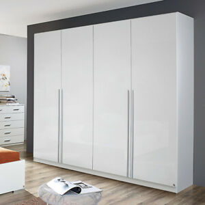 kleiderschrank lorca schrank wei hochglanz b 226 cm ebay. Black Bedroom Furniture Sets. Home Design Ideas