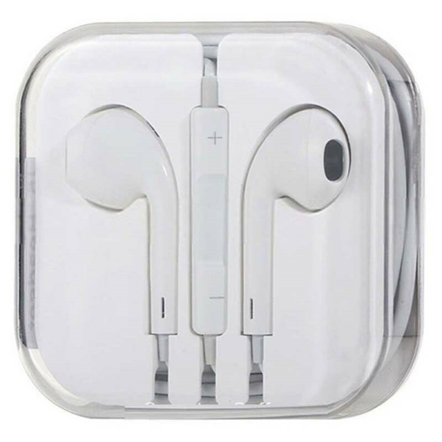 Headset, t. iPhone, Ubrugt & originalt apple headsæt…