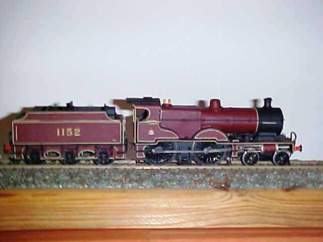 LMS ex Midle BR  Compound 440  tender  PcalienteOS FOR DISPLAY OBNLY