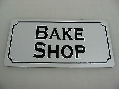 *SPECIAL* BAKE SHOP, MALT SHOP & CAKE SHOP Vintage Style Metal Tin Sig