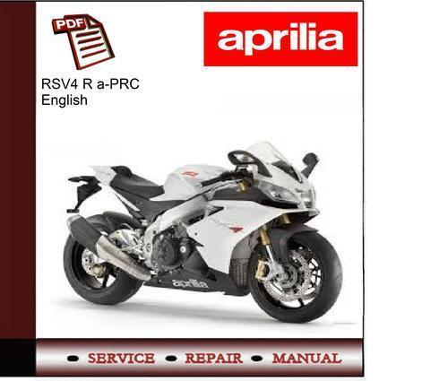 aprilia rsv4 r a prc workshop service repair manual ebay rh m ebay ie BMW Workshop Manual rsv4 factory workshop manual