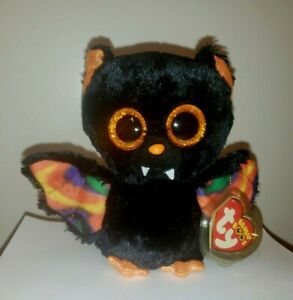 Ty Beanie Boos - SCAREM the Halloween Bat (6 Inch) NEW - MINT with MINT TAGS