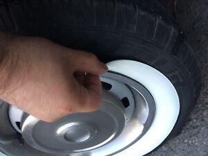 15-034-Rim-Popular-Tire-White-wall-Whitewall-Topper-Tire-Trim-port-a-wall-Set4