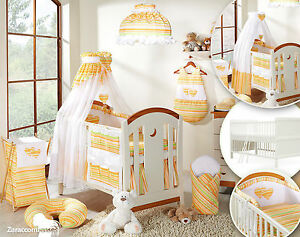 babybett kinderbett juniorbett weiss 140x70 bettw sche herz komplett set ebay. Black Bedroom Furniture Sets. Home Design Ideas