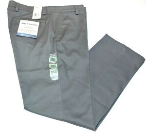 Men-039-s-Dockers-Easy-Khaki-Gray-Grey-Straight-Fit-Stretch-All-Motion-Pants