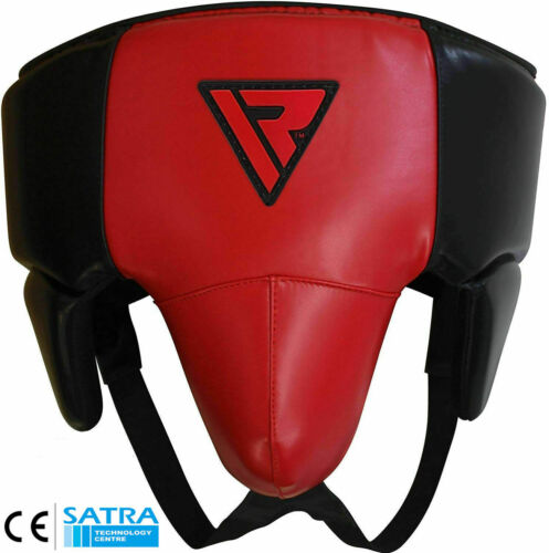 Rdx shell metal lace protector mma cup boxing abdo muay thai steel iron sp