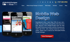 AWESOME MOBILE WEB DESIGN WEBSITE  Free Installation + Free Hosting