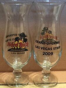 Hard-Rock-Cafe-LAS-VEGAS-Grand-Opening-2009-Hurricane-Glass-Red-Circle-Logo-Palm