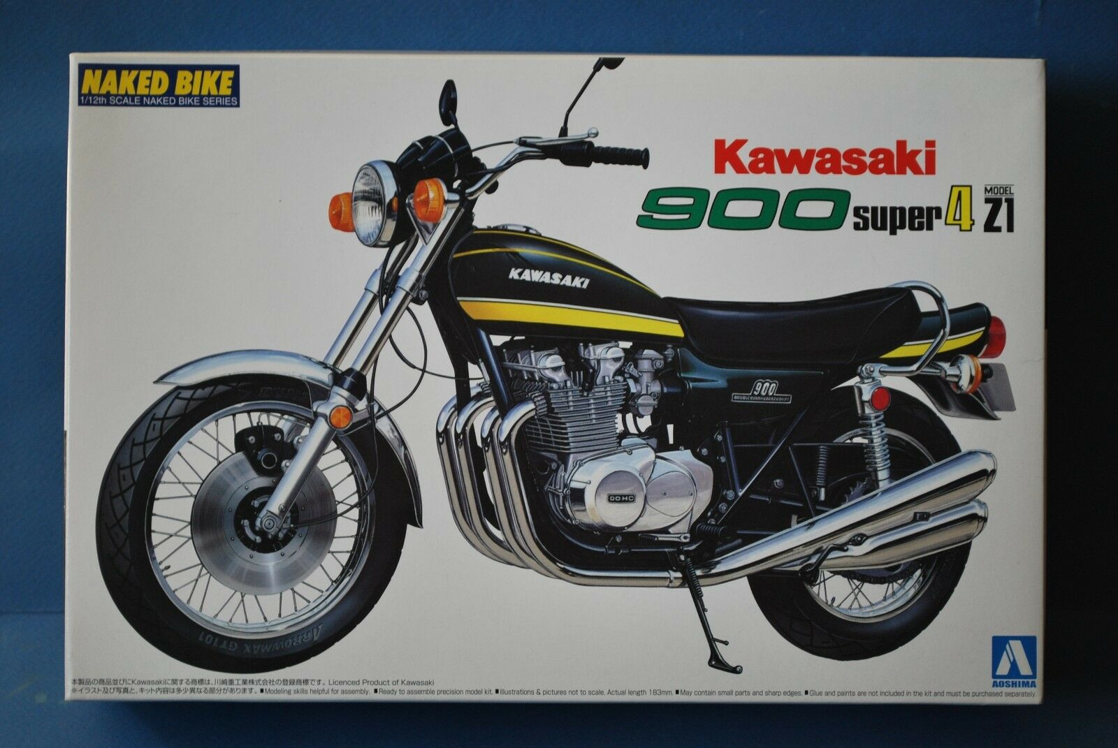 AOSHIMA JAPAN 1 12  KAWASAKI 900 SUPER 4 Z1.