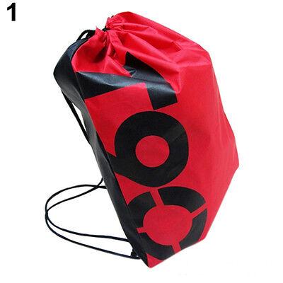 1X Swimming Drawstring Backpack School Beach Sport Sack Gym Tote Bag Swim Duffle