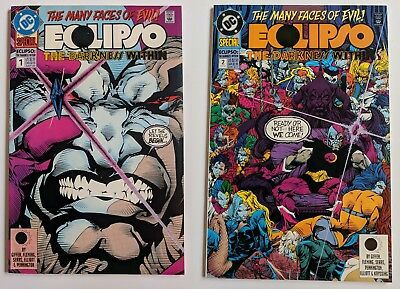 The Demon Annual #1 DC Comic 1994 Eclipso The Darkness Within Crossover Event