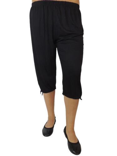 relativa dimensione Pump Pantaloni Estate Pantaloni UNI 119 Breve Harem Pantaloni Misura 44 46 48 50 52