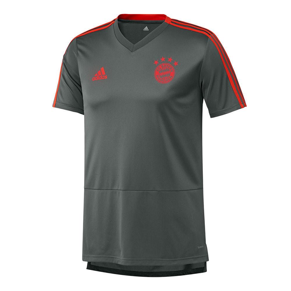 FC Bayern München TRAINING SHIRT Adidas FCB T-shirt, Grigio