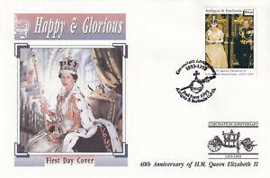 29233-Antigua-and-Barbuda-FDC-Queen-Coronation-40-Years-1993
