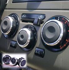 Apto Para Nissan Tiida Versa Livina Calentador Perillas diales A/c botones de cambio de cubierta