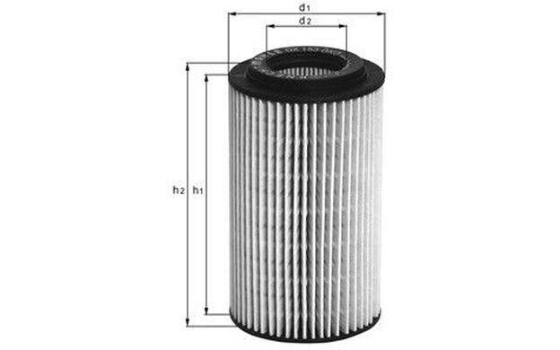 KNECHT Filtro de aceite HONDA CIVIC ACCORD CR-V OX 347D