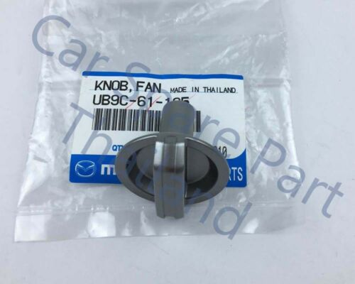 Genuine Heater A//C Heater Fan Switch Control Knob No:2 05-12 Mazda BT50 Pickup