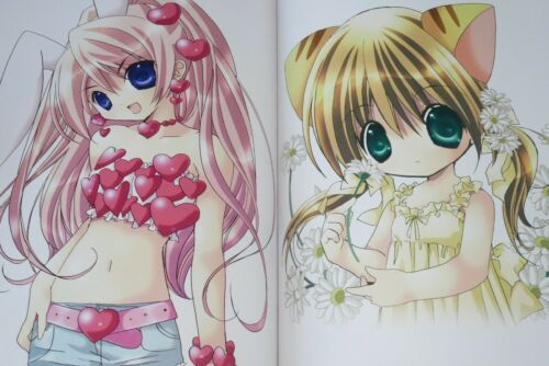 Di Gi Charat Art Book Chocola 2008 JAPAN Koge-Donbo Illustrations