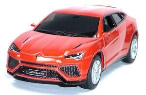Lamborghini-Urus-Orange-Metallic-Environ-12-5-cm-modele-de-collection-neuve-de-Kinsmart