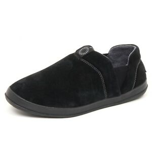 Ugg Nero Uomo Hanz Non campione Slip scatola On Sneaker D7716 in vendita Man senza wBzT8qf