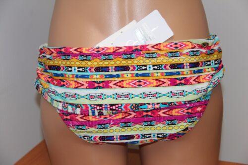 NWT Jessica Simpson Swimsuit Bikini Skirted Bottom Sz S Cool Mint