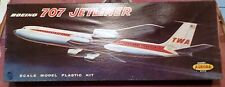 "AURORA 1959 TWA  AIRLINES BOEING 707  INCOMPLETE & ""ISSUES"""