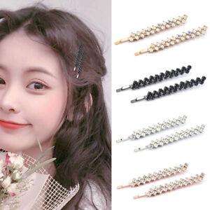 2Pcs-Shining-Crystal-Rhinestone-Hair-Clips-Barrettes-Hairpin-Hair-Accessories-AU