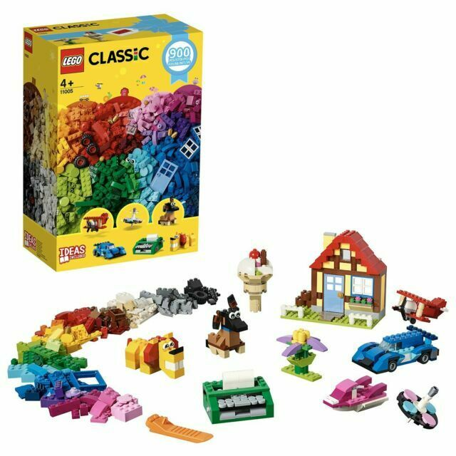 LEGO Classic Set 11005 Creative Fun 900 Mixed Bricks Pieces