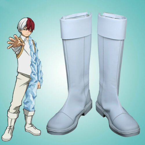 Boku No Hero Academia My Hero Academia Todoroki Shoto Cosplay boots shoes F.1618