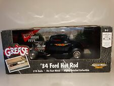 ERTL American Muscle 1934 Ford Hot Rod Grease 1:18 Scale Diecast Model '34 Car