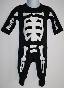 6c6ddcb4c Image is loading Carters-Halloween-Costume-Baby-SKELETON-6-Months-Infant-