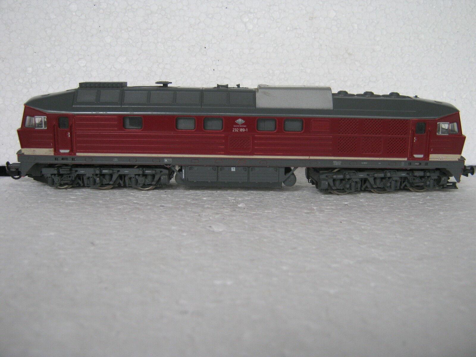 Digital ROCO HO DC 43955 Diesel Locomotive Ludmilla BR 232 189-1 Dr (rg cb 233-71s3 6)