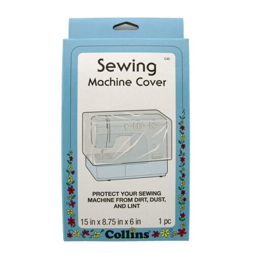 Collins Sewing Machine Plastic Dust Cover #C45
