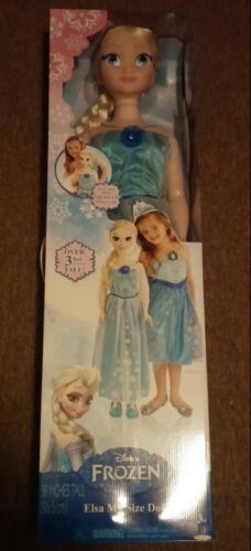 "Elsa Frozen 38/""  Life Size Dolls New ITB"