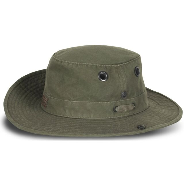 Tilley T3 Wanderer Unisex Medium Snap up Brim Hat T3w Olive Size 7 1 4 34781a866a9