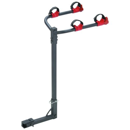 Dual Twin Two Bike Bicycle Auto Trailer Tow Hitch Mount Carrier Rack Holder